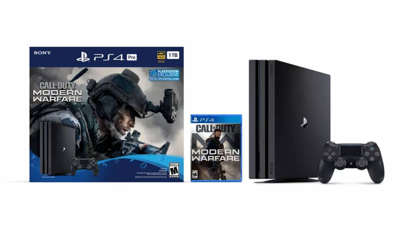 Call of Duty: Modern Warfare PS4 Pro bundle on the way