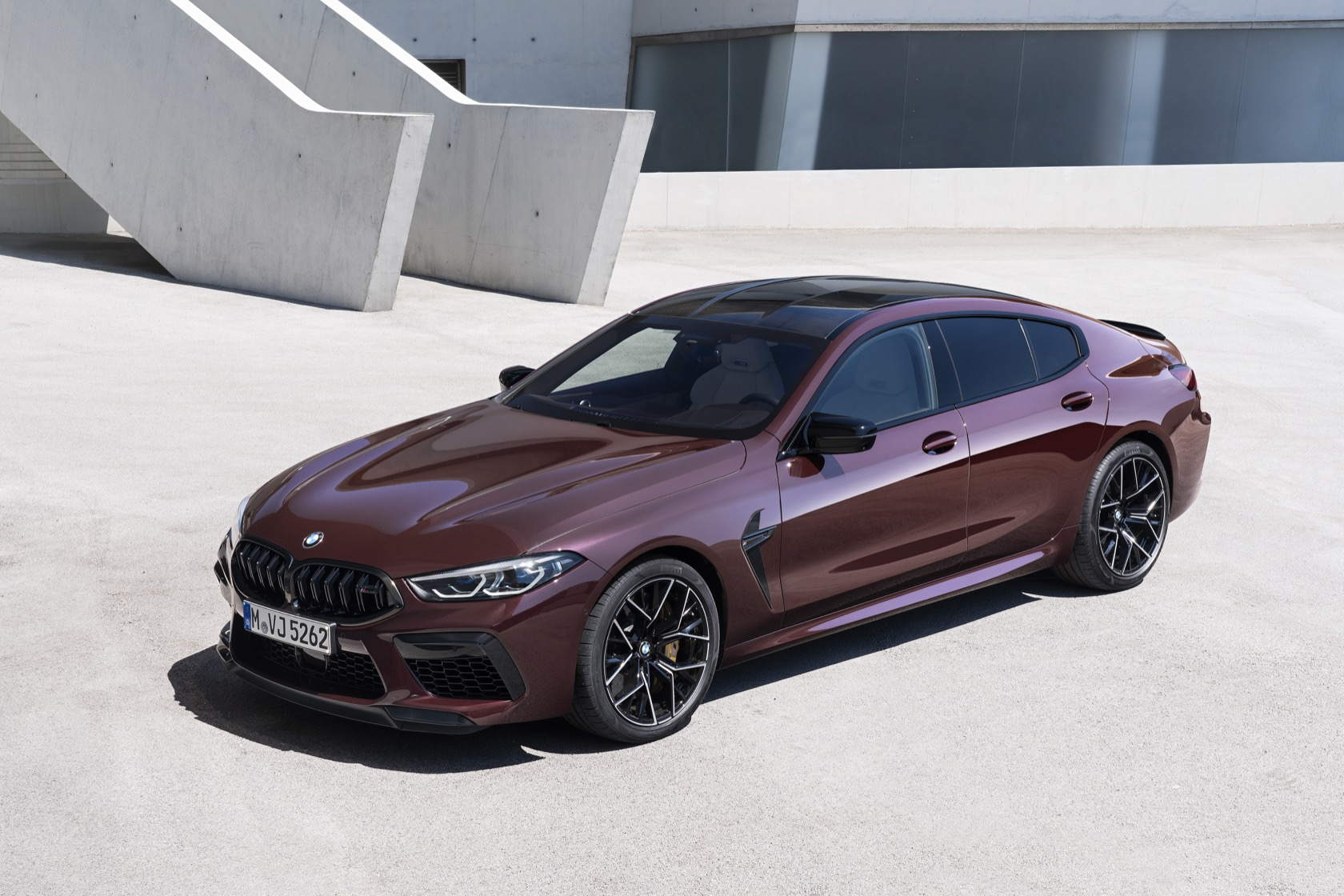 2020 Bmw M8 Gran Coupe Competition Is 617hp Of Four Door Luxury Slashgear
