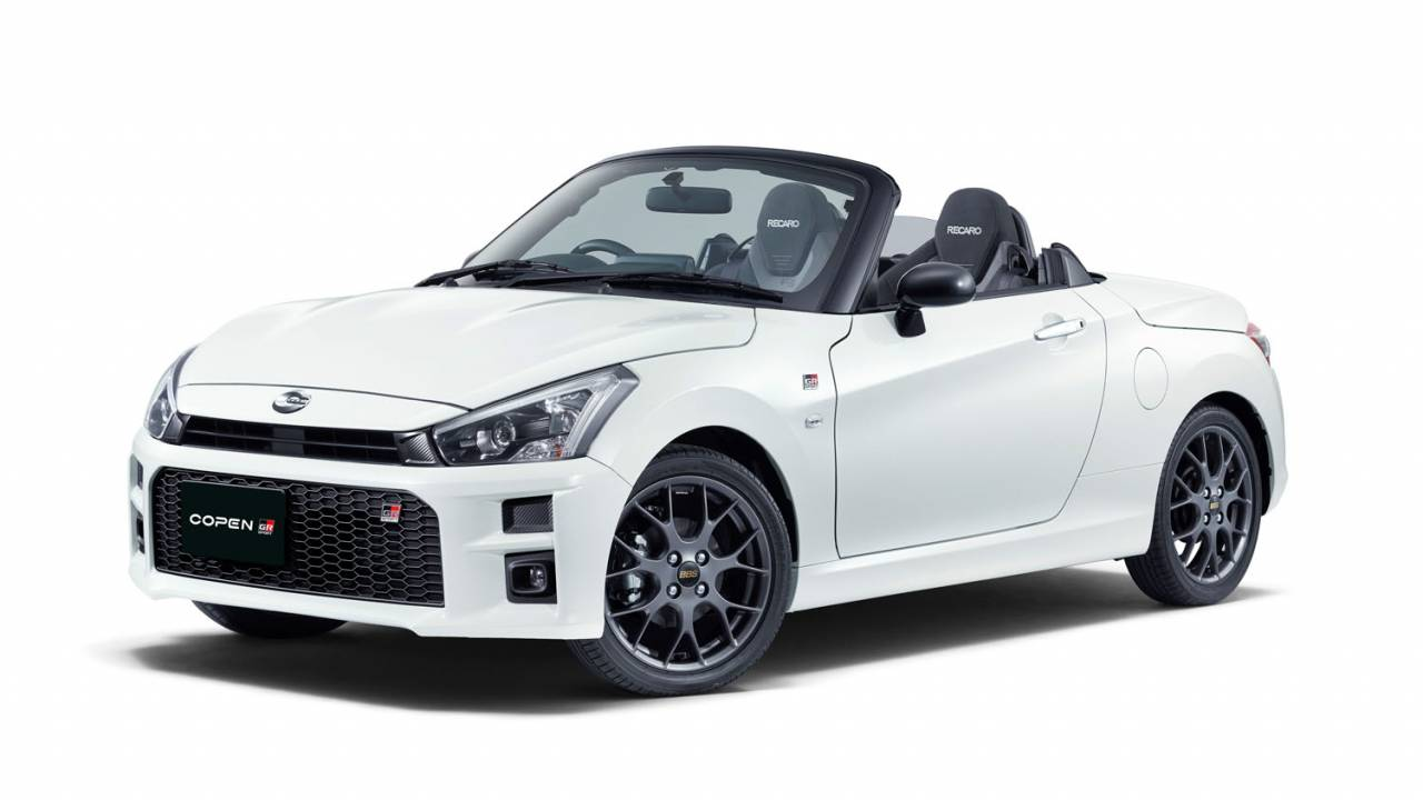 Toyota Copen GR Sport is a quirky sports car for Japan only