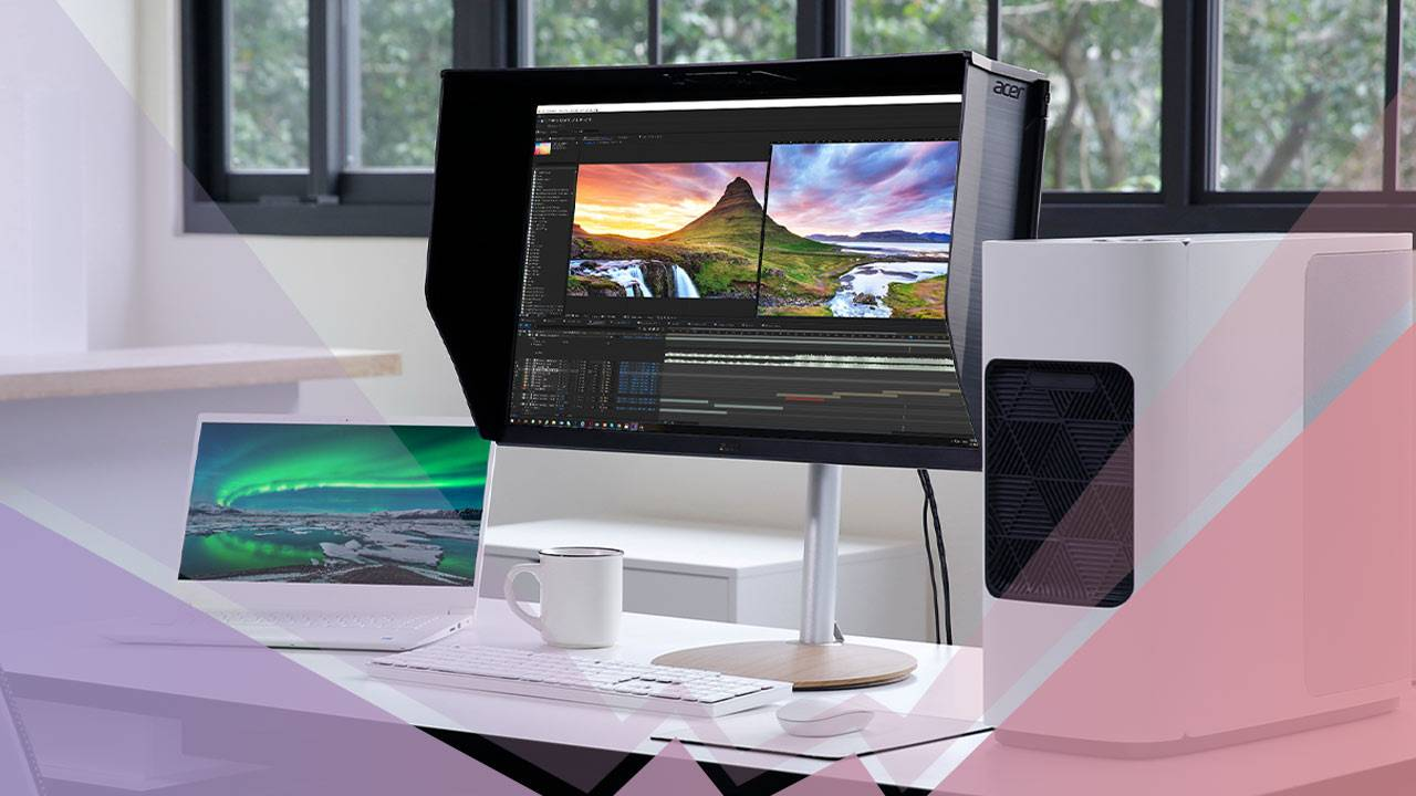 Acer ConceptD CP3 and CP7 monitors released for creative professionals