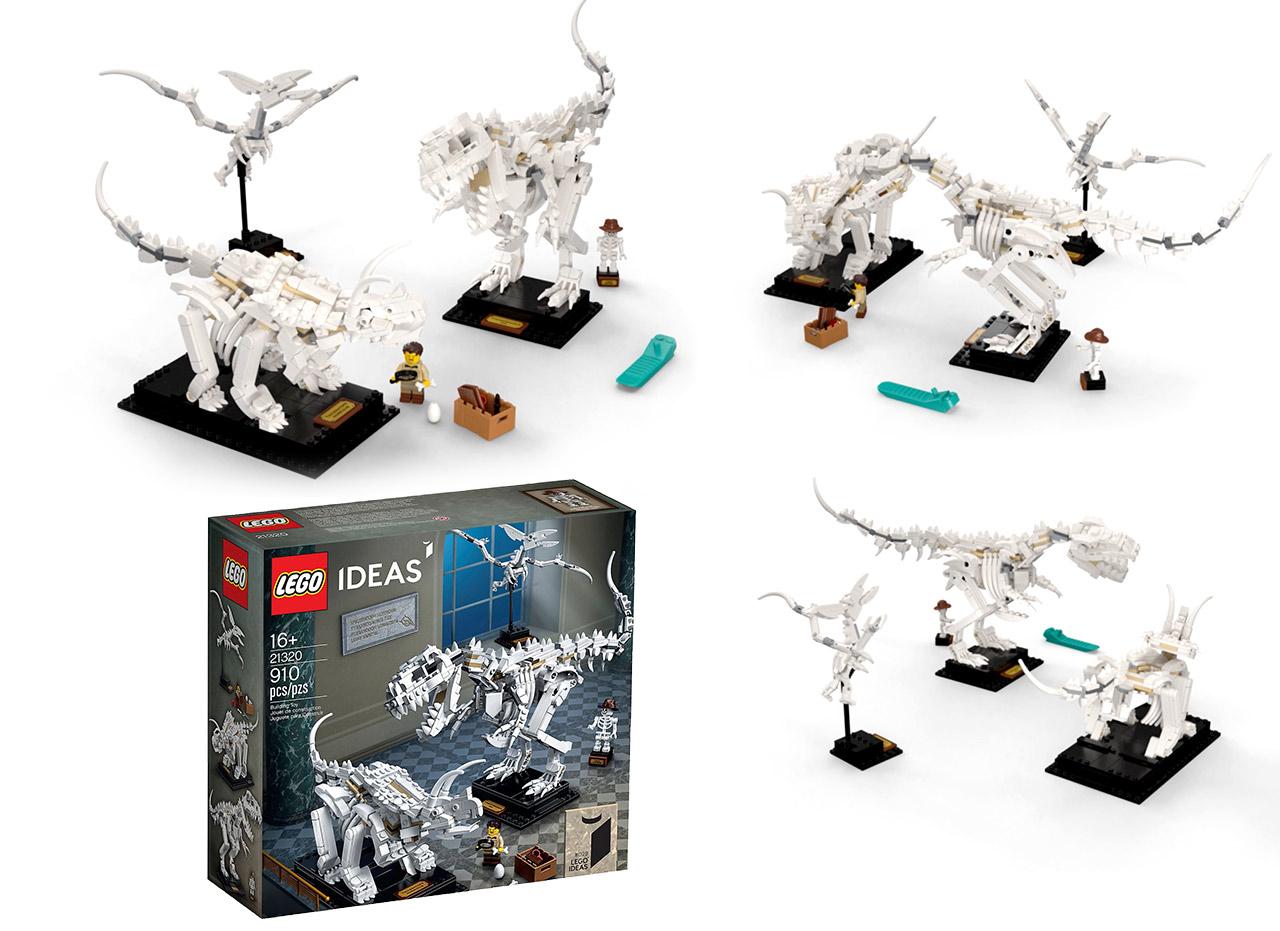 Lego Ideas Dinosaur Fossils Will Be The Go To 60 Gift This Christmas Slashgear