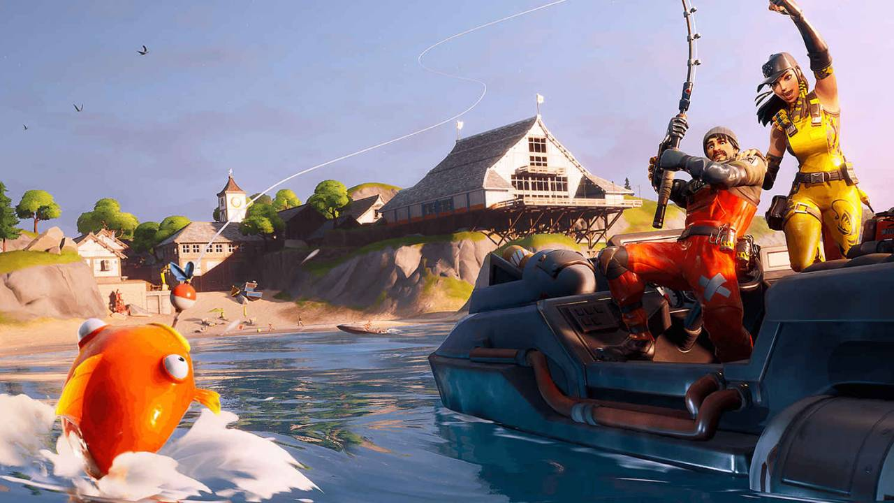Fortnite battle royale players figure out how to fish for bots