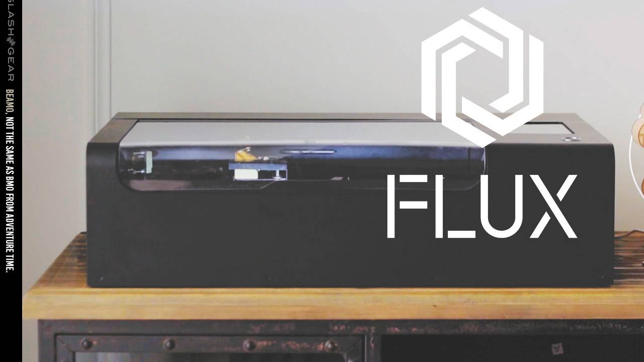 FLUX Beamo revealed: $800 for the world's smallest CO2 laser cutter