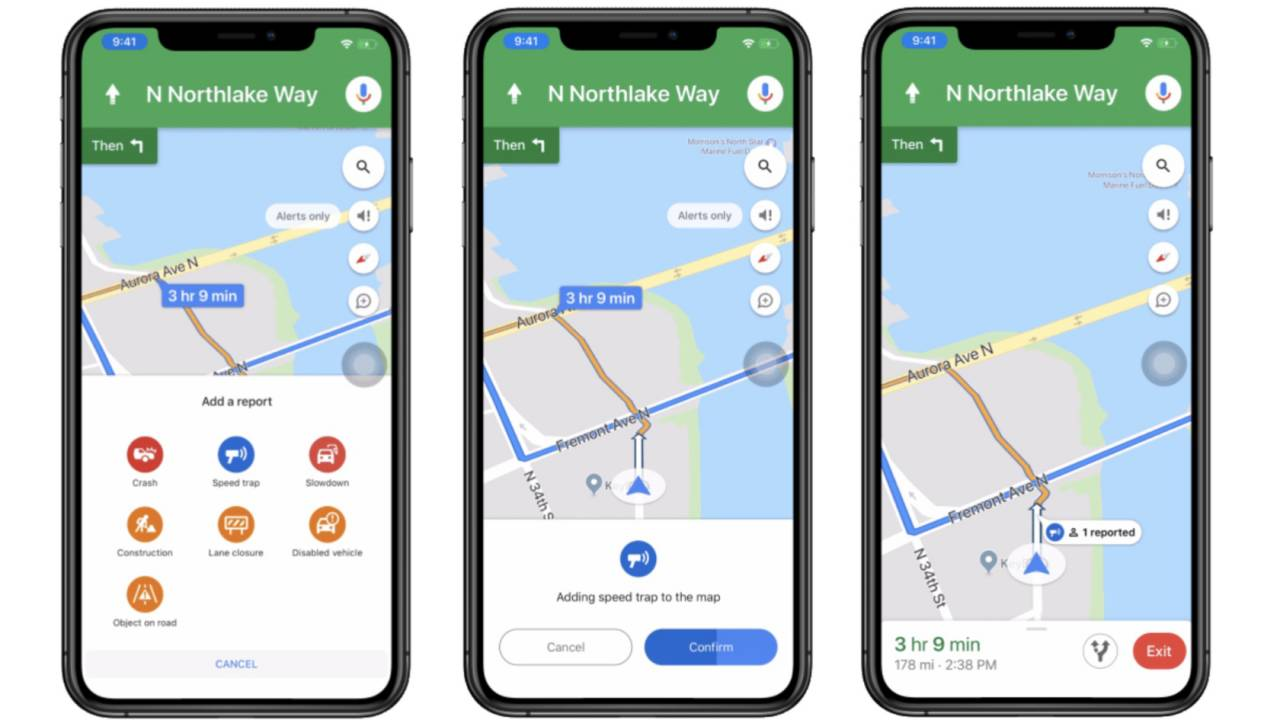 Google Maps narrows Waze gap with broader incident reporting