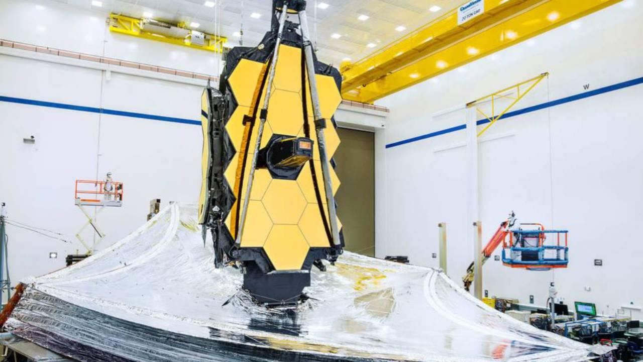NASA says James Webb Space Telescope passed critical sunshield test
