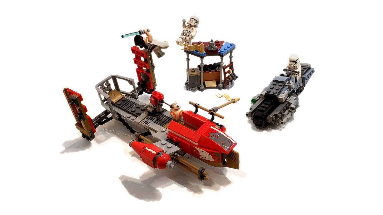 Star Wars: The Rise of Skywalker Pasaana Speeder LEGO Review