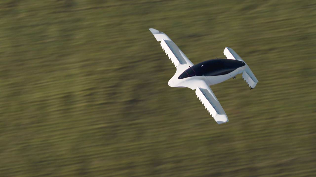 "Watch Lilium's all-electric jet ace the complex move it'll use as an ""air taxi"""