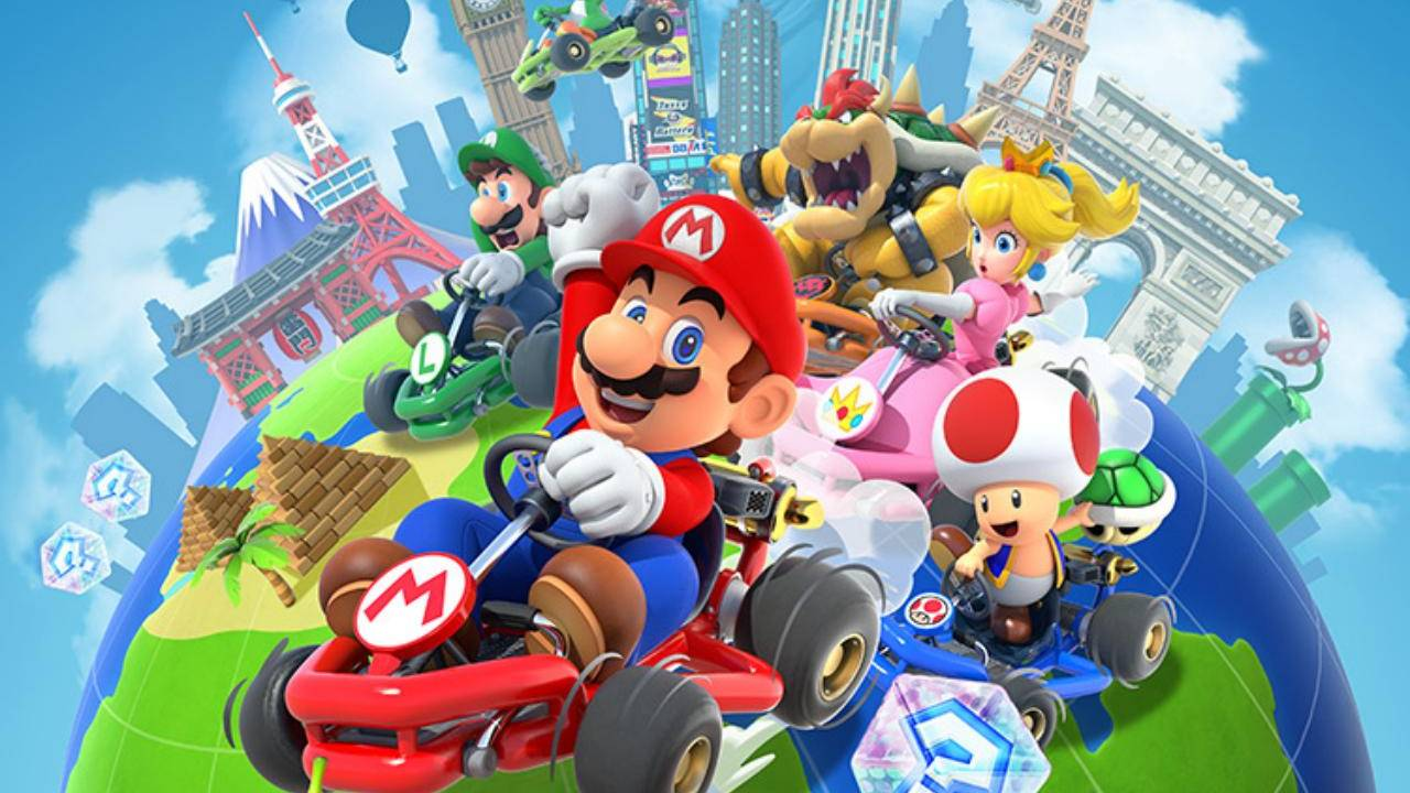 Mario Kart Tour breaks Nintendo mobile records and it isn't even close