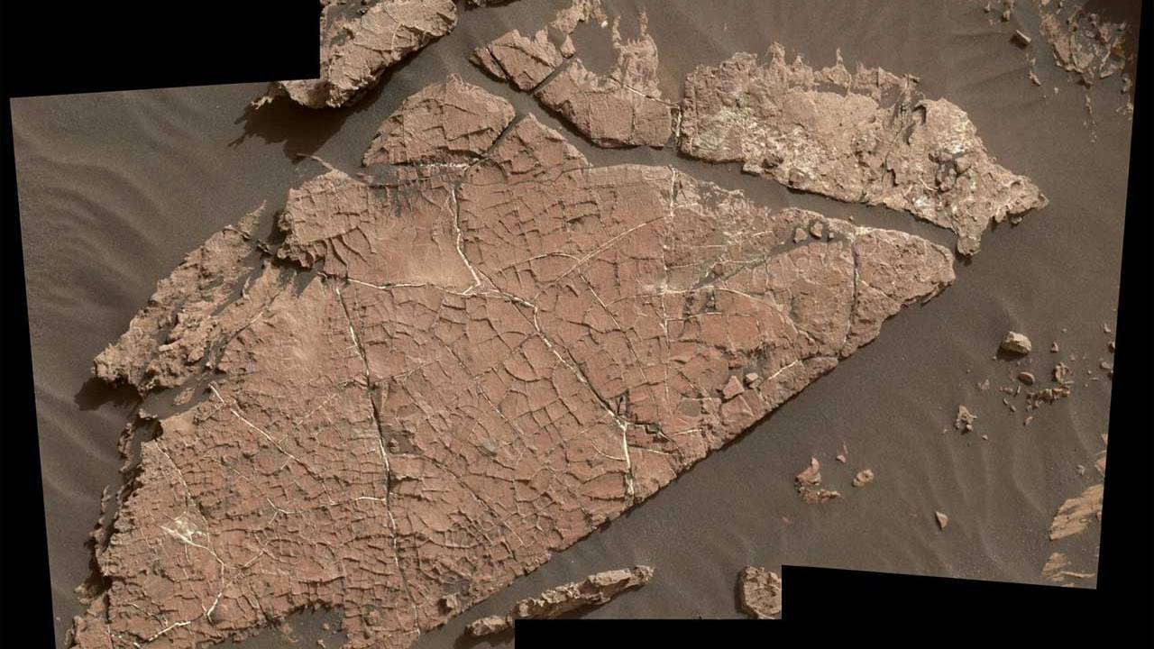 """""""Old Soaker"""" gives new evidence of a wet Mars"""