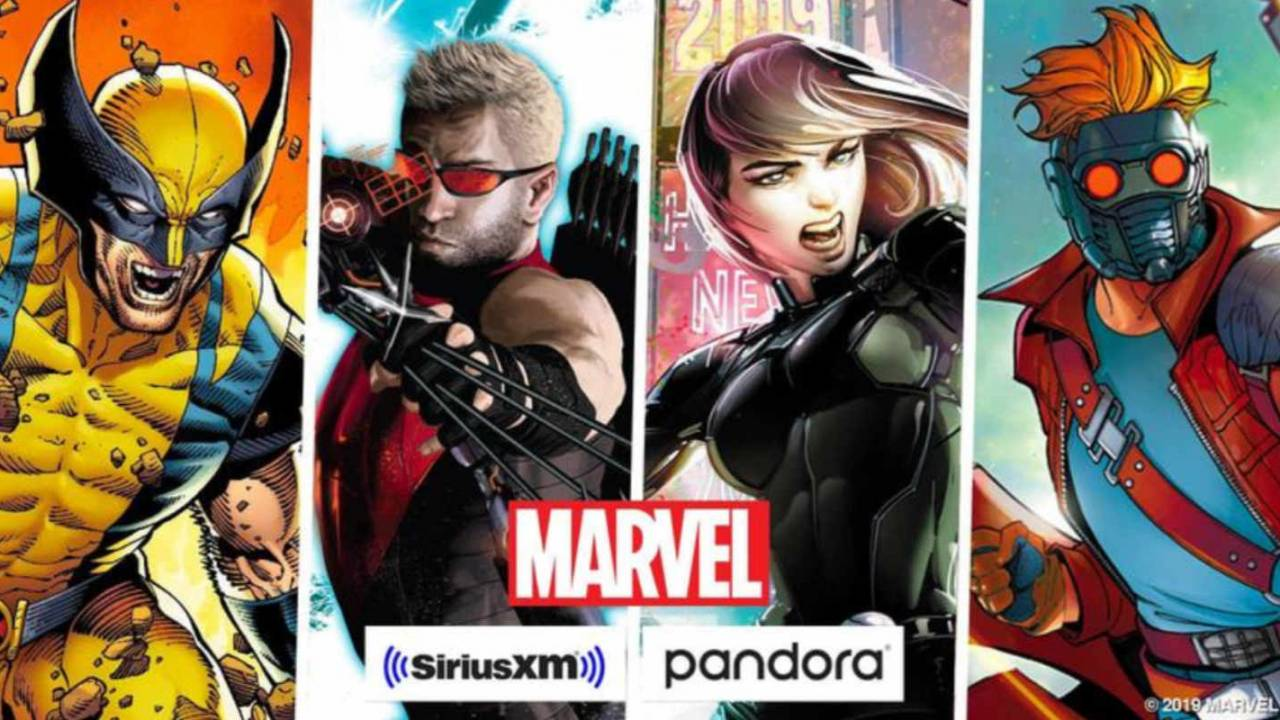 Marvel will create several exclusive podcasts for SiriusXM and Pandora