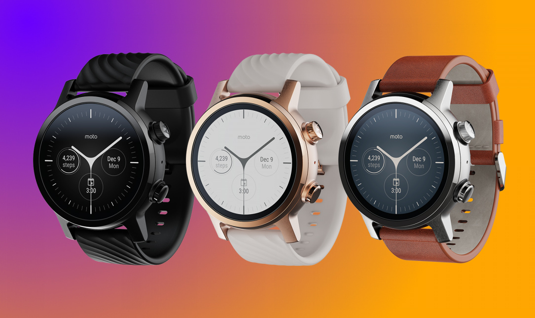 Moto 360 back from the dead as a classy Wear OS smartwatch