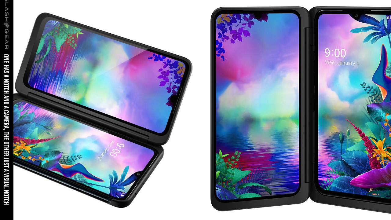 LG G8X ThinQ released to AT&T with Dual Screen case