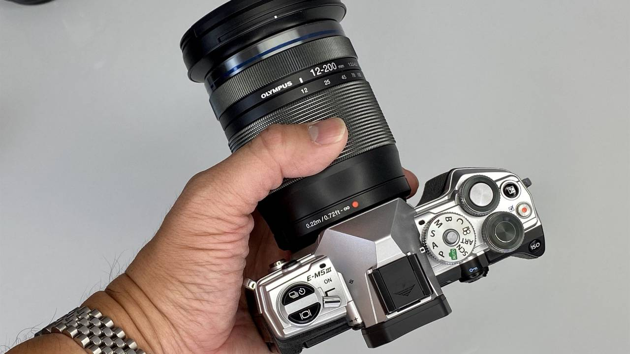 Olympus OM-D E-M5 Mark III hands-on: compact and even more powerful