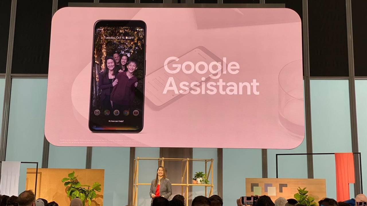 Pixel 4 new Google Assistant requires Gesture Navigation