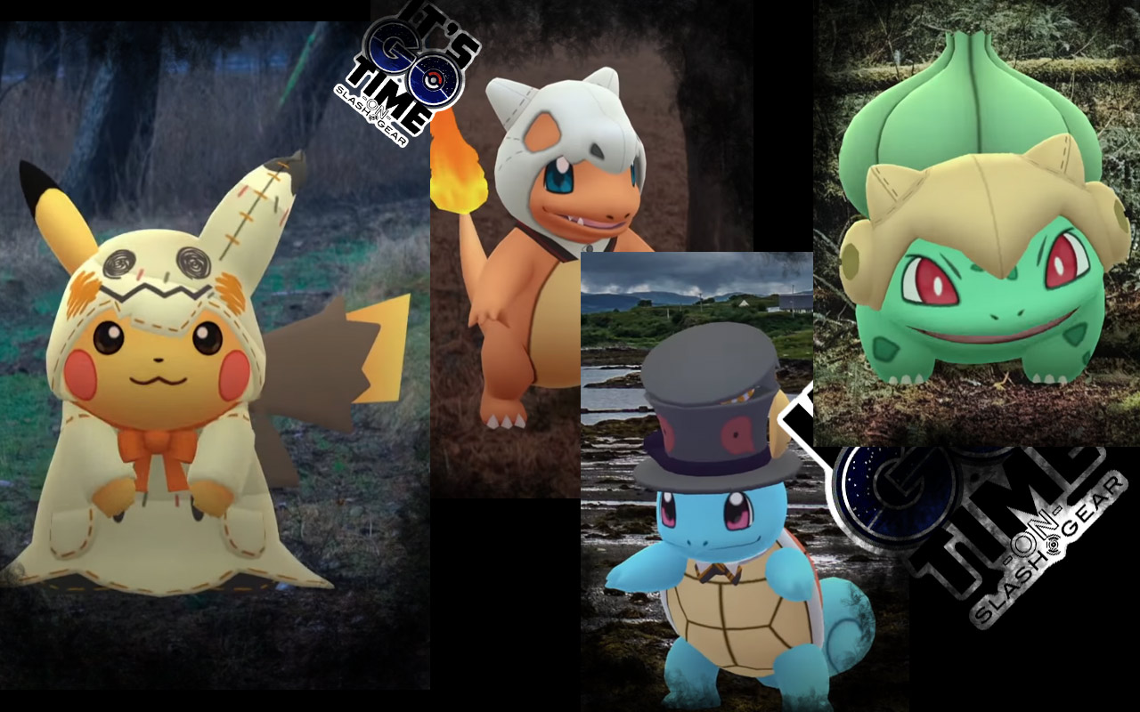 Pokemon Go Halloween 2020 Pokemon GO Darkrai raids, Shiny Pikachu in Mimikyu costume, other