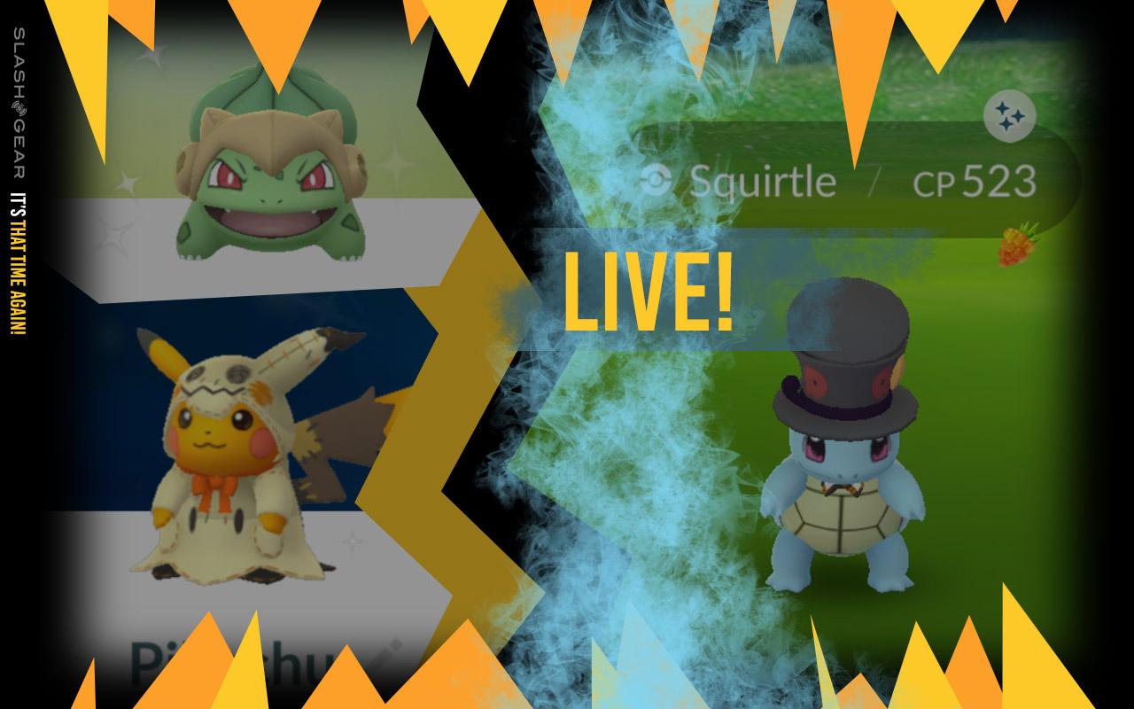 Pokemon Go Halloween 2020 Reddit Pokemon GO update: Unique Halloween forms list and Meloetta clue