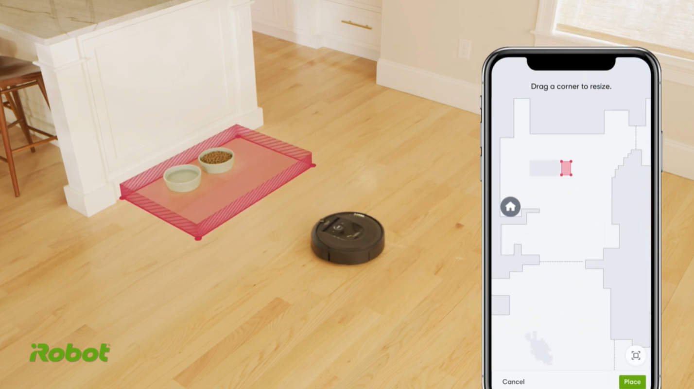 Roomba Update Adds Keep Out Zones