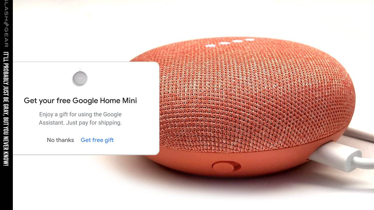 Google Home Mini given away to some users in these apps