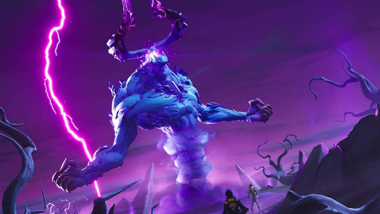 Epic nerfs Fortnite's Storm King LTM boss so that he's easier to beat