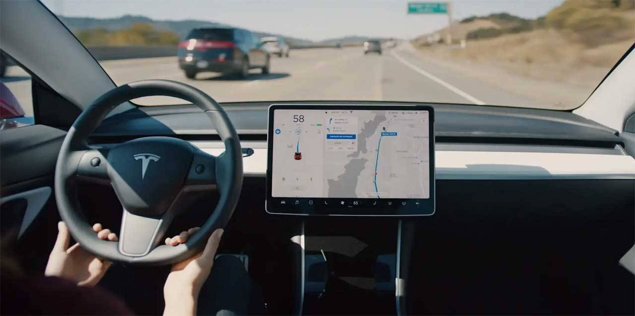 Tesla update increases vehicle power, adds nav feature, and more