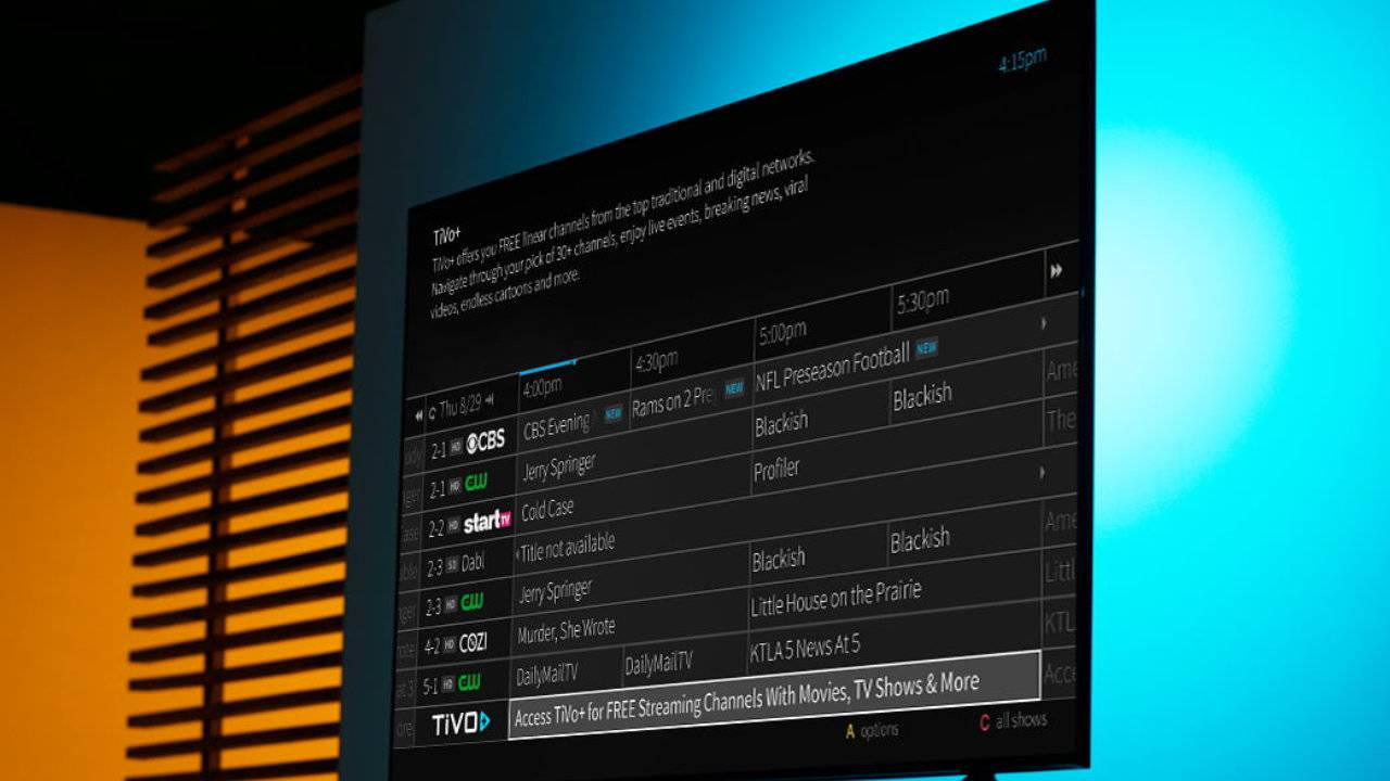 TiVo Plus ad-supported video streaming service arrives for DVR customers