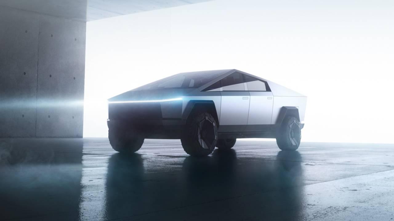 Tesla Cybertruck revealed: A pickup like no other