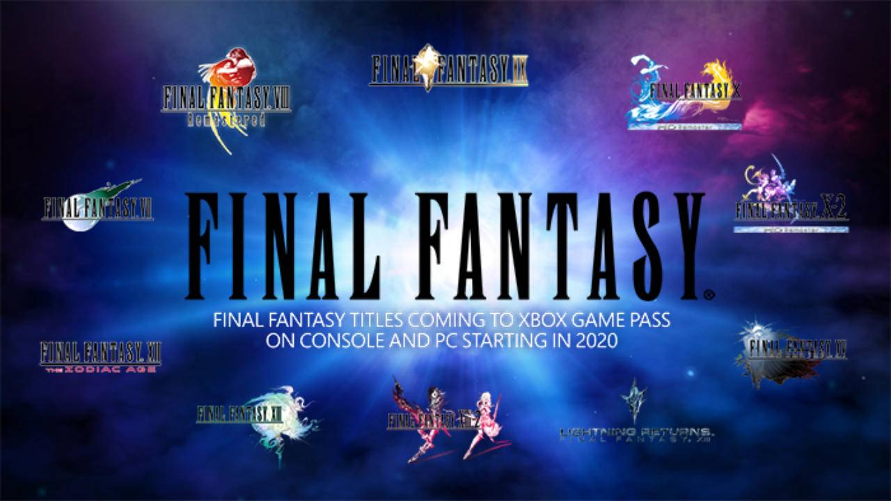 Final Fantasy comes to Xbox Game Pass, Final Fantasy XIV promised