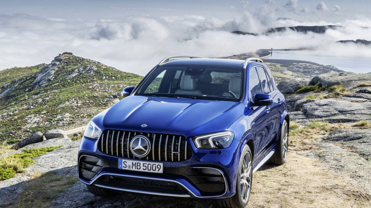 This 2021 Mercedes Amg Gle 63 S Is An Suv To Put Sports Cars To Shame Slashgear
