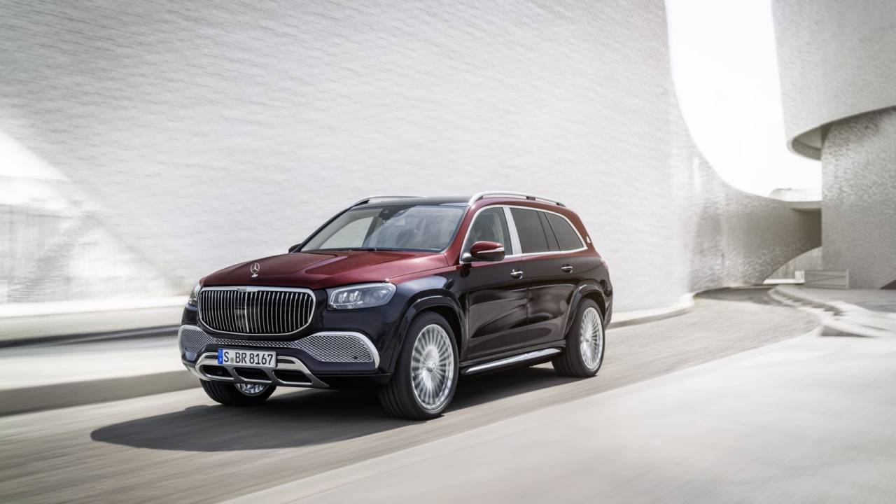 2021 Mercedes-Maybach GLS Gallery