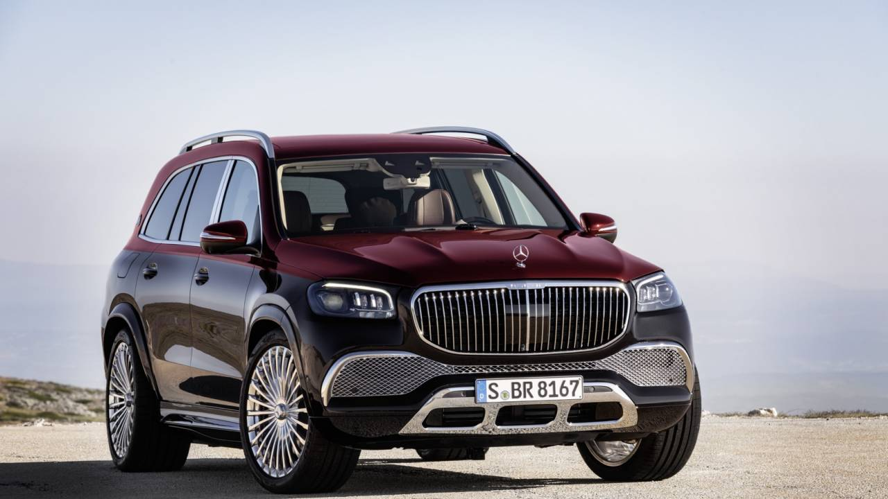 This Mercedes-Maybach GLS 600 is about as excessive as luxury SUVs get