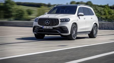 2021 Mercedes-AMG GLS 63 SUV Gallery