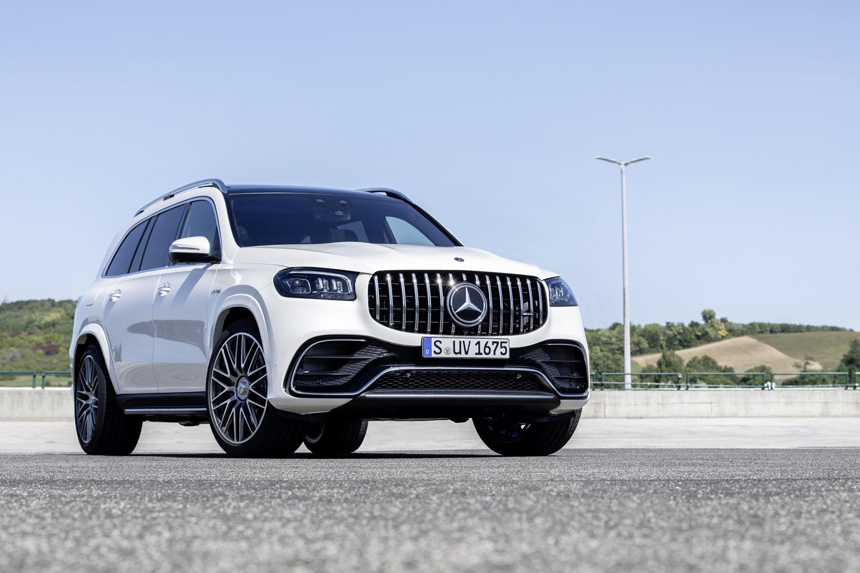 2021 Mercedes GLS History