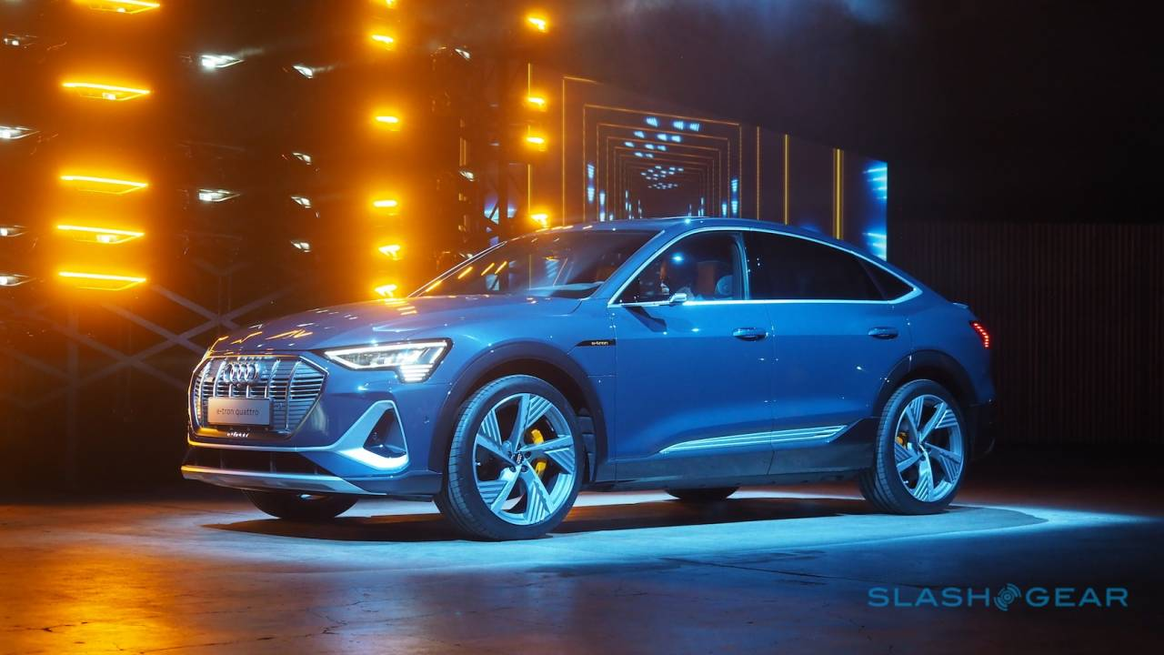 2020 Audi e-tron Sportback revealed as electric 4-door coupe