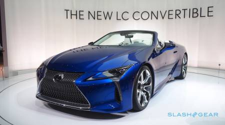 The Lexus LC 500 Convertible is more stunning than we dared hope
