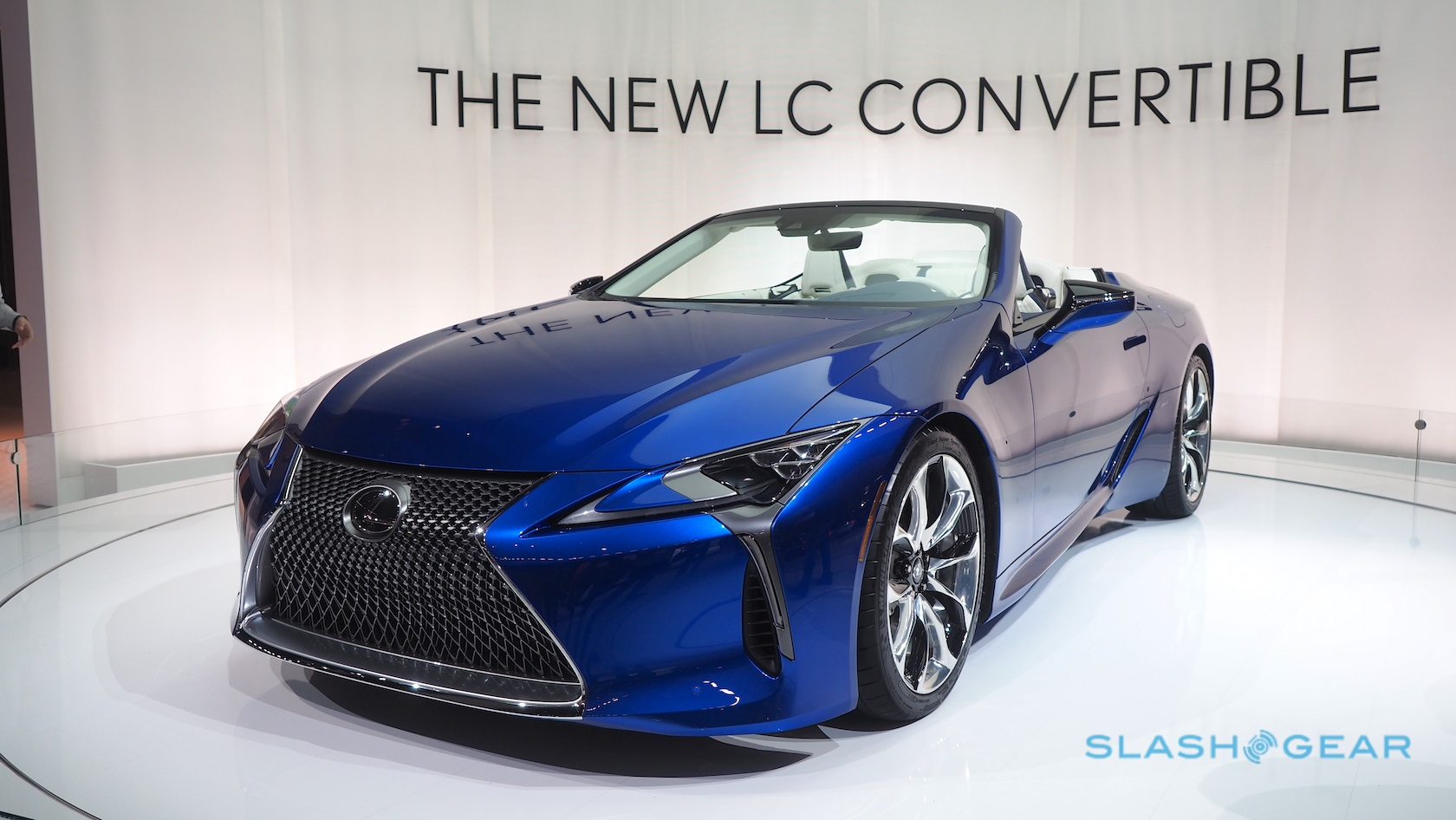 Four Door Convertible >> The Lexus LC 500 Convertible is more stunning than we dared hope - SlashGear