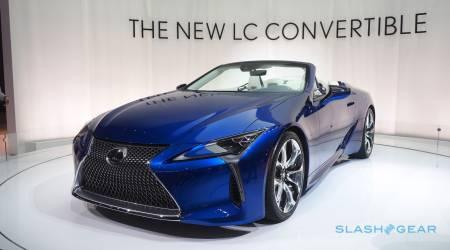 2021 Lexus LC 500 Convertible Gallery