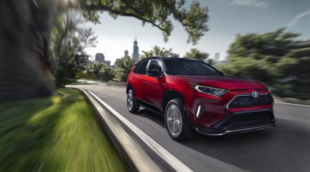 2021 Toyota RAV4 Prime plug-in hybrid packs 302hp and 39 mile EV range