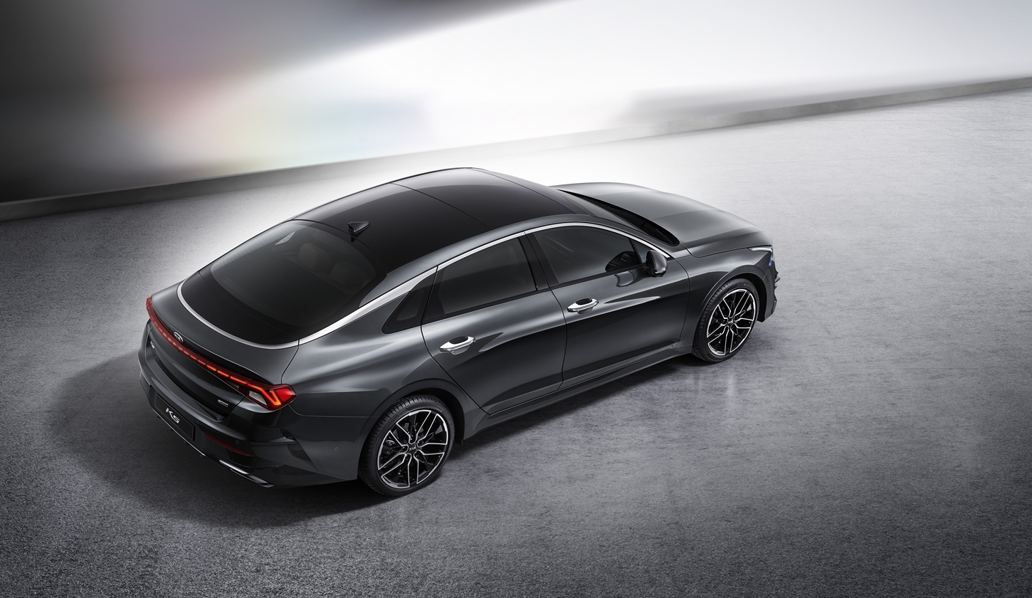 2021 kia optima previewed by this striking k5 sports sedan