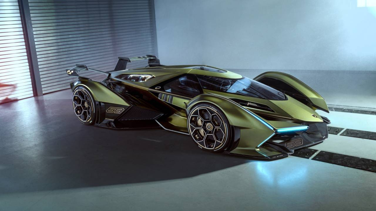 The Lamborghini Lambo V12 Vision Gran Turismo has just one problem ...