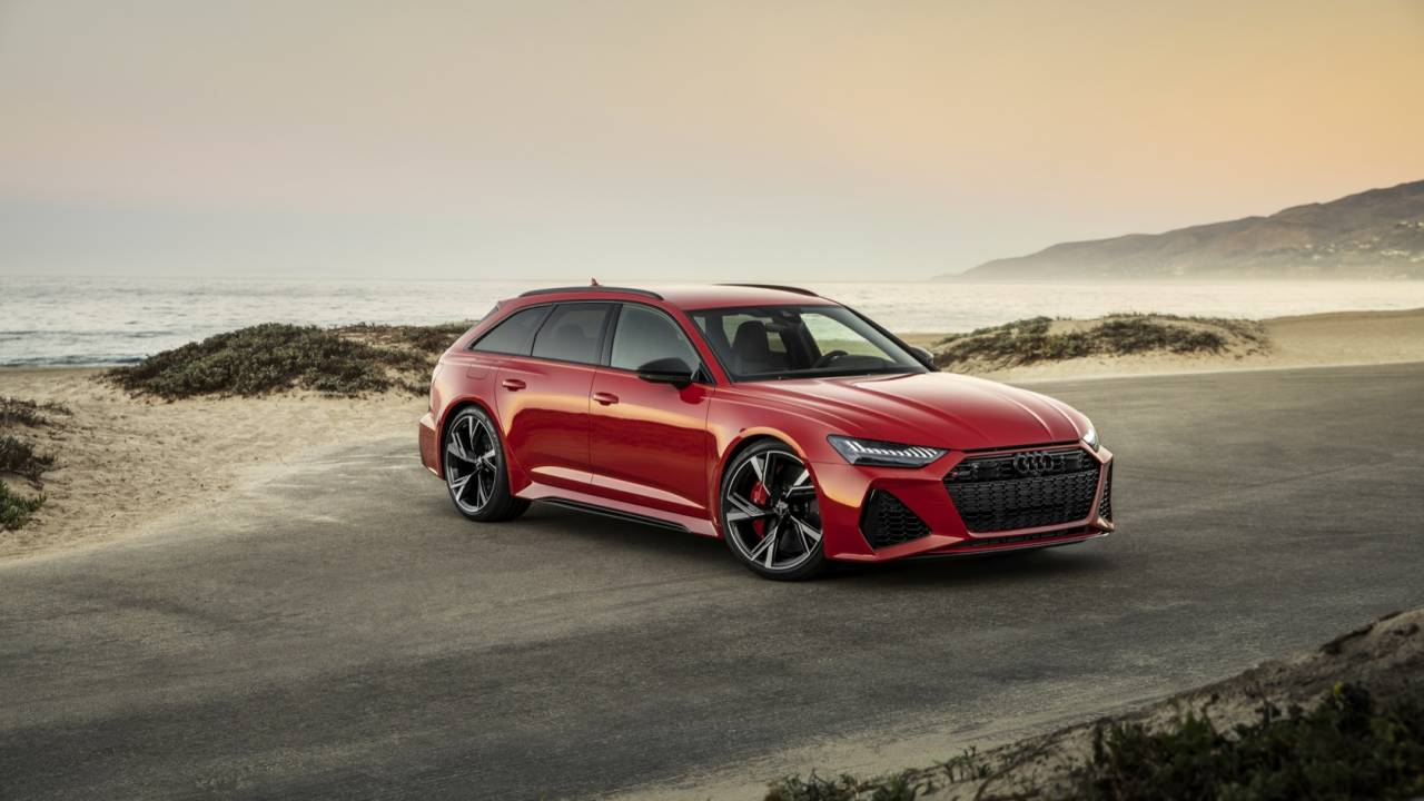 2020 Audi RS6 Avant Gallery