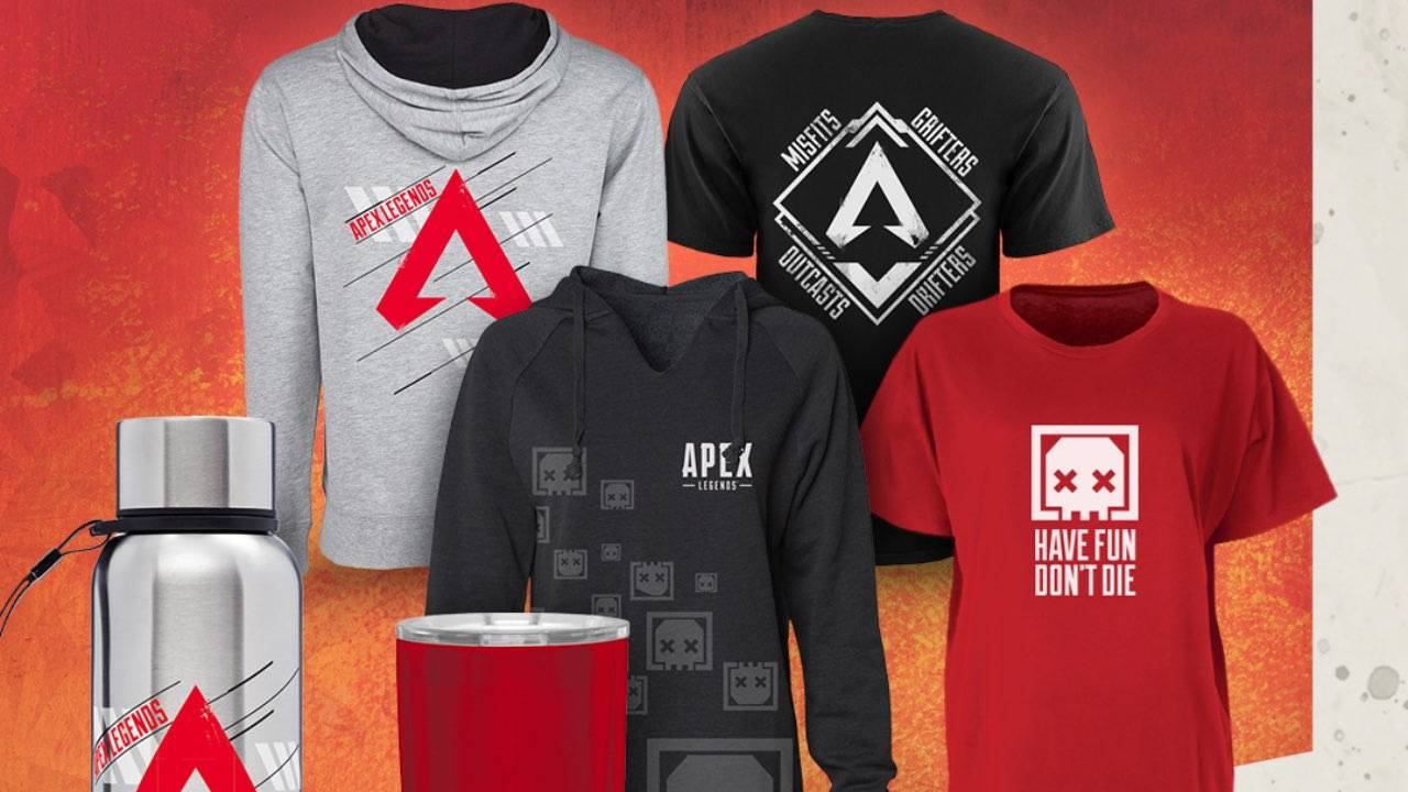 Respawn launches official Apex Legends online merchandise store
