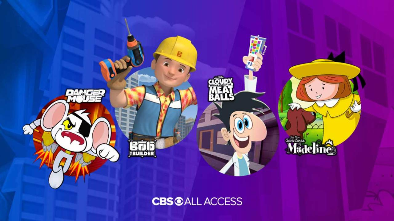 CBS All Access adds classic and original TV shows for kids