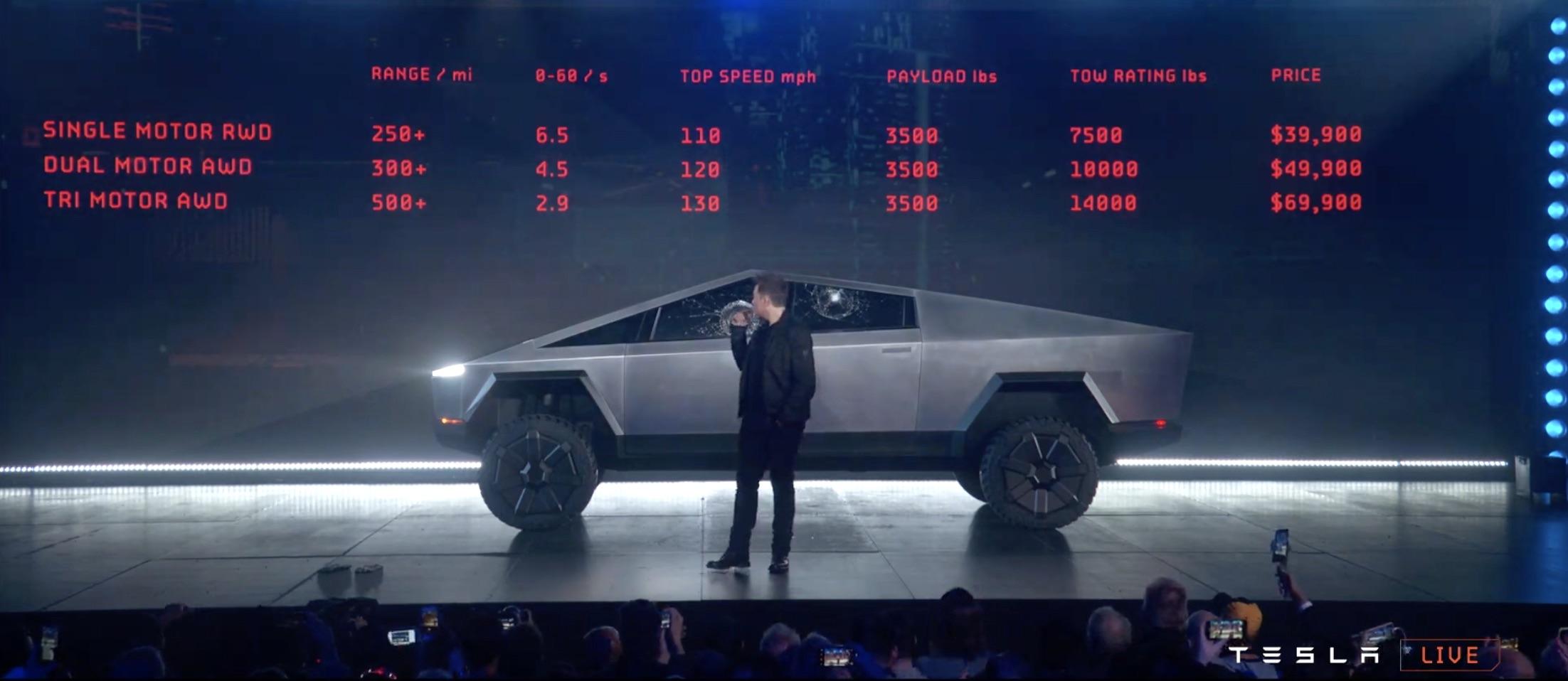Tesla Cybertruck specs: Elon Musk's pickup by the numbers ...
