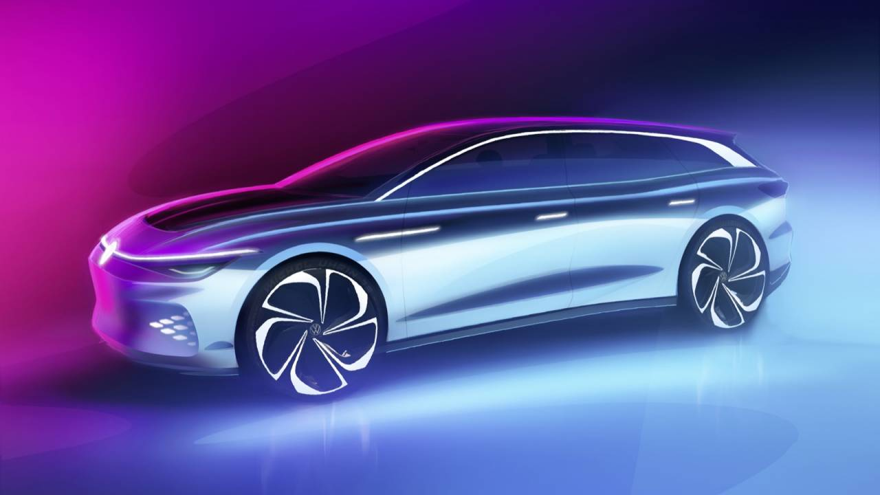 VW ID. SPACE VIZZION reinvents the wagon as a seductive EV