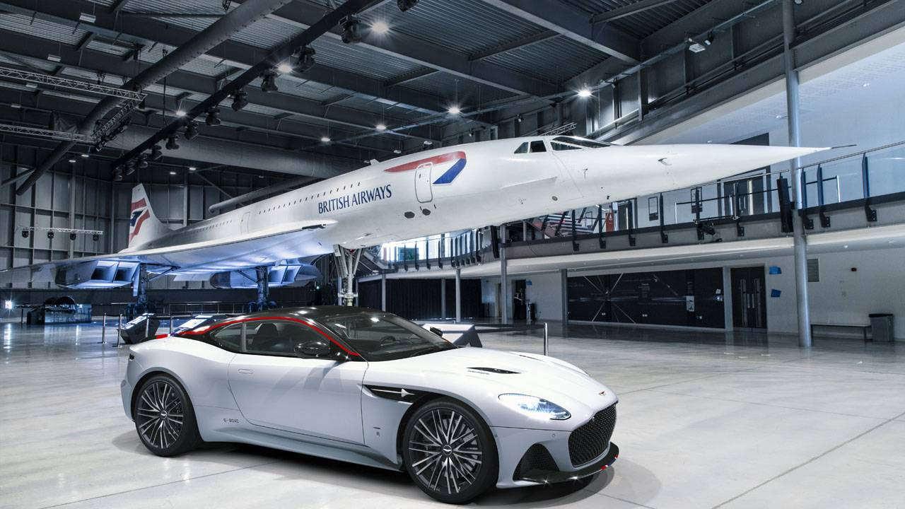 Aston Martin DBS Superleggera Concorde Special Edition is limited to 10 units