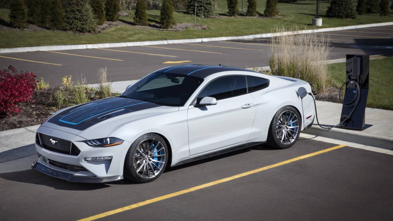 Ford built this 900hp electric Mustang to prove EVs can be muscle cars
