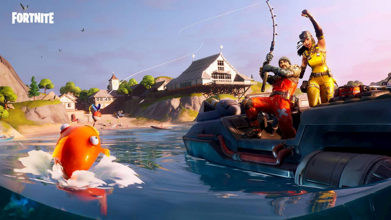 Fortnite's next event is a fishing tournament