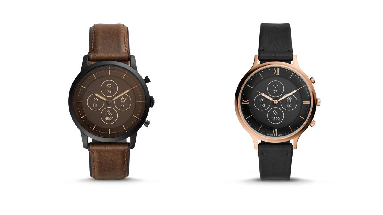 Fossil Hybrid HR smartwatches hide impressive tech inside analog design