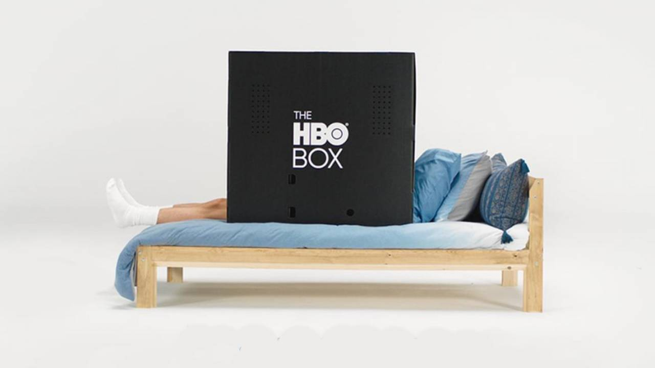 HBO's new giveaway involves cardboard boxes made for privacy