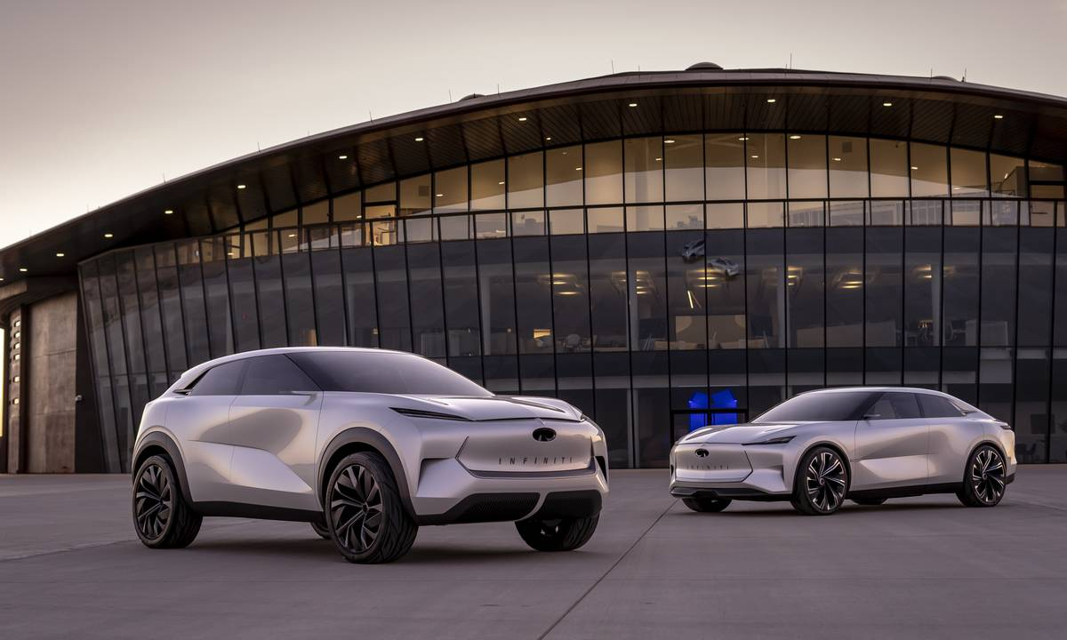 Infiniti details plans to make a hybrid like no other